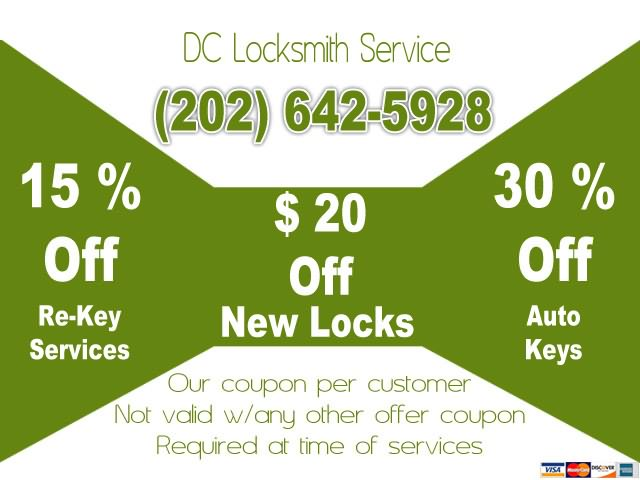 dc locksmith service special offers